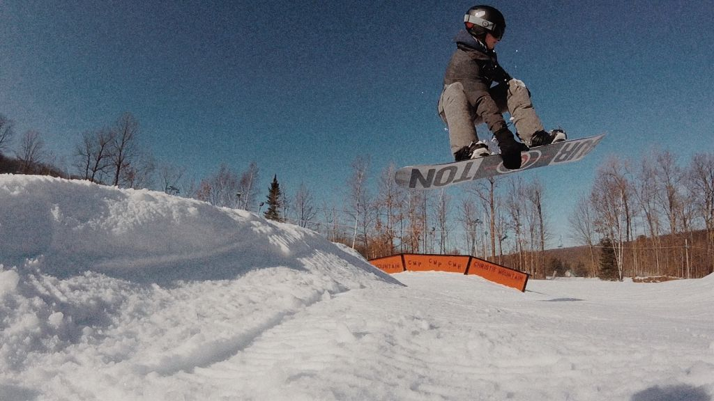 #snow #snowboarding #winter #trees #jump #flying #vintage #person #freetoedit