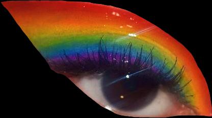 imkiddingthatsaprettyperson eye rainbow eyeaesthetic eyeshadow freetoedit