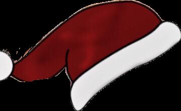 hat santa cristmas new art freetoedit