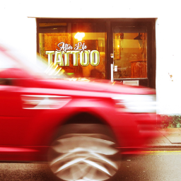 photography tattoo parlour car wheels