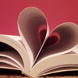 books book heart papers madebyme