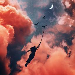 fly free live sky imagination freetoedit