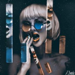 freetoedit artisticportrait remixed layers sheereffect