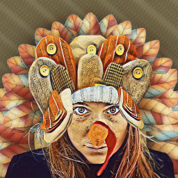 disguise turkey woman madewithpicsart freetoedit fcthanksgiving thanksgiving