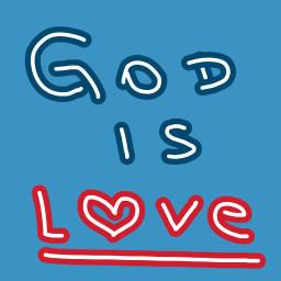 god love heart freetoedit dcoutlineart outlineart