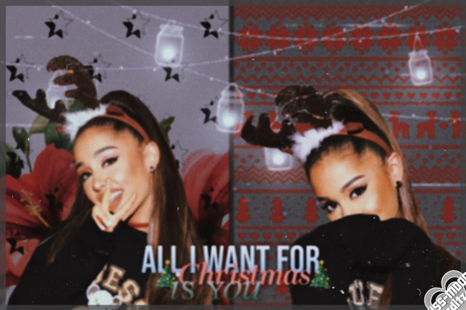 .・。.・゜✭・.・✫・゜・。.  🎄Xmas edit with Ariana Grande for @moonliqhtbae-🎄   ❄️Hope u like it sweetheart❄️   🙋Hey Arinators🙋   🎁Tags🎁 #arianagrande #ariana #grande #xmas #christmas  .・。.・゜✭・.・✫・゜・。.