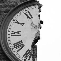 freetoedit charxoxomuah clock blackandwhite blackandwhitephotography