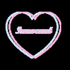 heart pink blue innocent aesthetic freetoedit