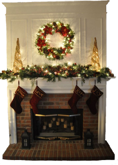 chimney christmas fireplace newyear aesthetic freetoedit