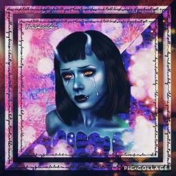 music freetoedit art devil bluedevils