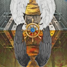 freetoedit heaven hell compass angel ircfoggybridge