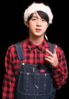 jin seokjin bts christmas christmasbts freetoedit