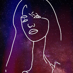 freetoedit sketch sketcheffect sketch6 galaxy