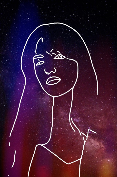 #freetoedit #sketch #sketcheffect #sketch6 #galaxy #background #universe #galactic #outline