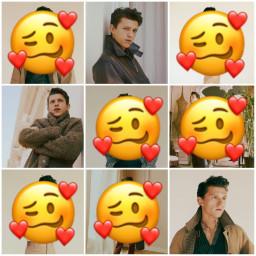 freetoedit tomholland emoji emojiedit aesthetic