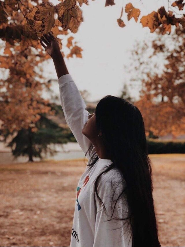 das me btw :)))) my friend took the picture autumn #fall #leaves #trees #fallcolors #freetoedit