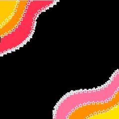 vsco border stars pink aesthetic freetoedit