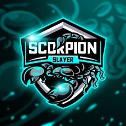 freetoedit scorpion logo game design