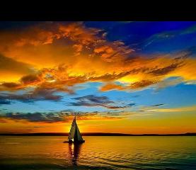 view panorama sunse beach image freetoedit