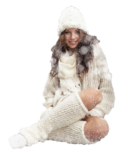 winter woman women girl snow freetoedit