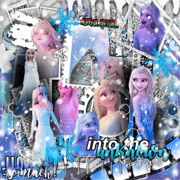 frozen frozen2 elsa intotheunknown showyourself freetoedit