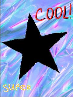 holographic frame star starframe freetoedit