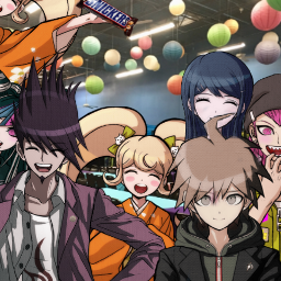 freetoedit danganronpa partytime epic fun