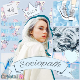 zodaic horoscopes billieeilish blue crystal freetoedit