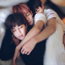 freetoedit cute sleep sleeping friends
