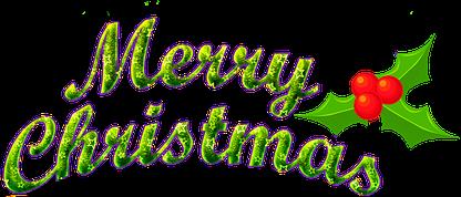 merry christmas text freetoedit