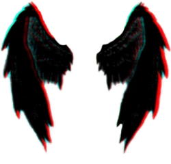 black red wings demon demonwings freetoedit