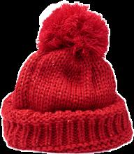 hat winterhat red knit freetoedit