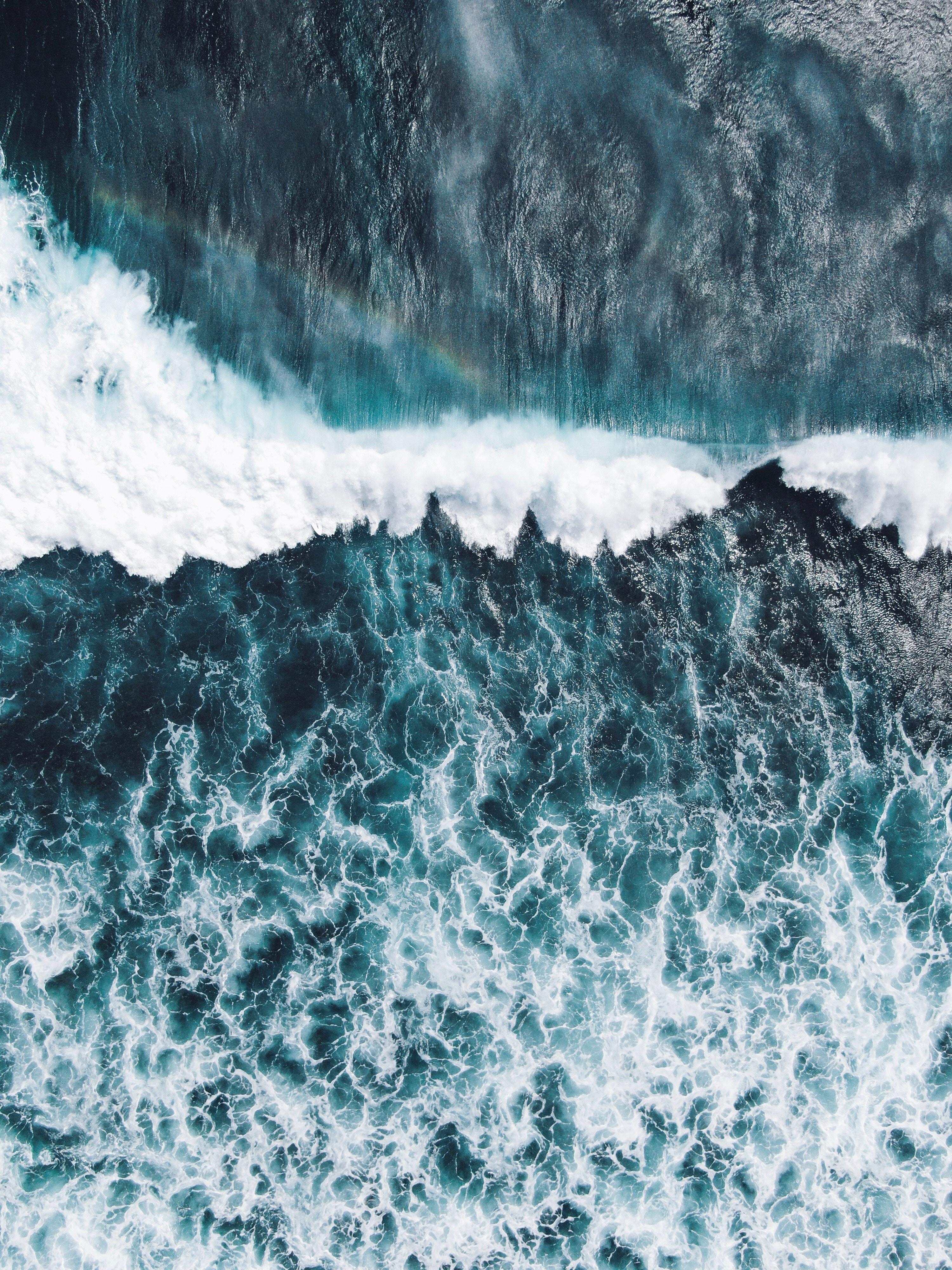 Ocean Aesthetic Water Background