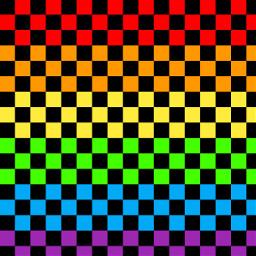 freetoedit rainbow checkered checkers emo scene scenecore