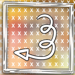 freetoedit spacer x arrow frame