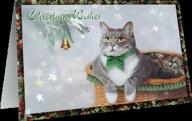 christmas card greeting cat madewithpicsart freetoedit scchristmascard christmascard