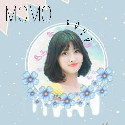 twice momo kpop once freetoedit