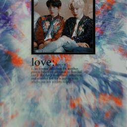 freetoedit bts jikook love kpop