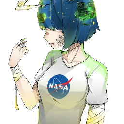 anime girl animegirl earth animeearth freetoedit