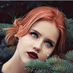 redlips greeneyes beautify brushtool