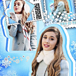 arianagrande winter christmas cold ice