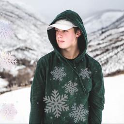 snowflakes snowflakesbrush holidays snow freetoedit