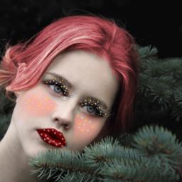freetoedit makeup ecchristmasmakeup christmasmakeup