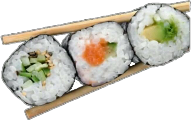 sushi overlays comida aesthetic aestethic freetoedit