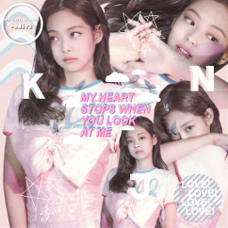 jennie blackpink blink love edit