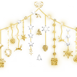 freetoedit christmas snowflakes star heart