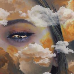 freetoedit облака руки небо