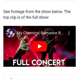 mcr mychemicalromance thereturn reunion concert