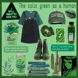 nichememe nicheclothes art grunge green