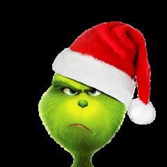 grinch movie christmas green benedictcumberbatch freetoedit